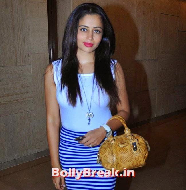 Neha Pendse, Marathi Actresses Pics from Music Launch of Marathi Film Lai Bhari - June 2014