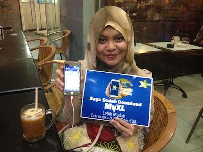 Download MyXL Dapat Pulsa