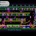مخطط وصفي موقف سيارات عام من عدة طوابق اوتوكاد dwg