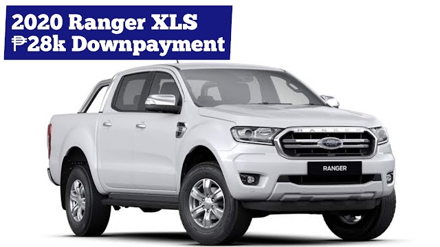 2020 Ford RANGER XLT PICK-UP Low Down Installment Promos (Ford Batangas)