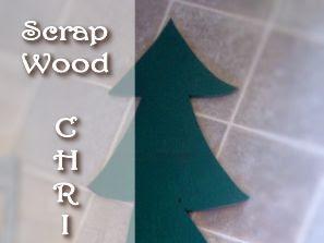My Scrap Wood Christmas Tree