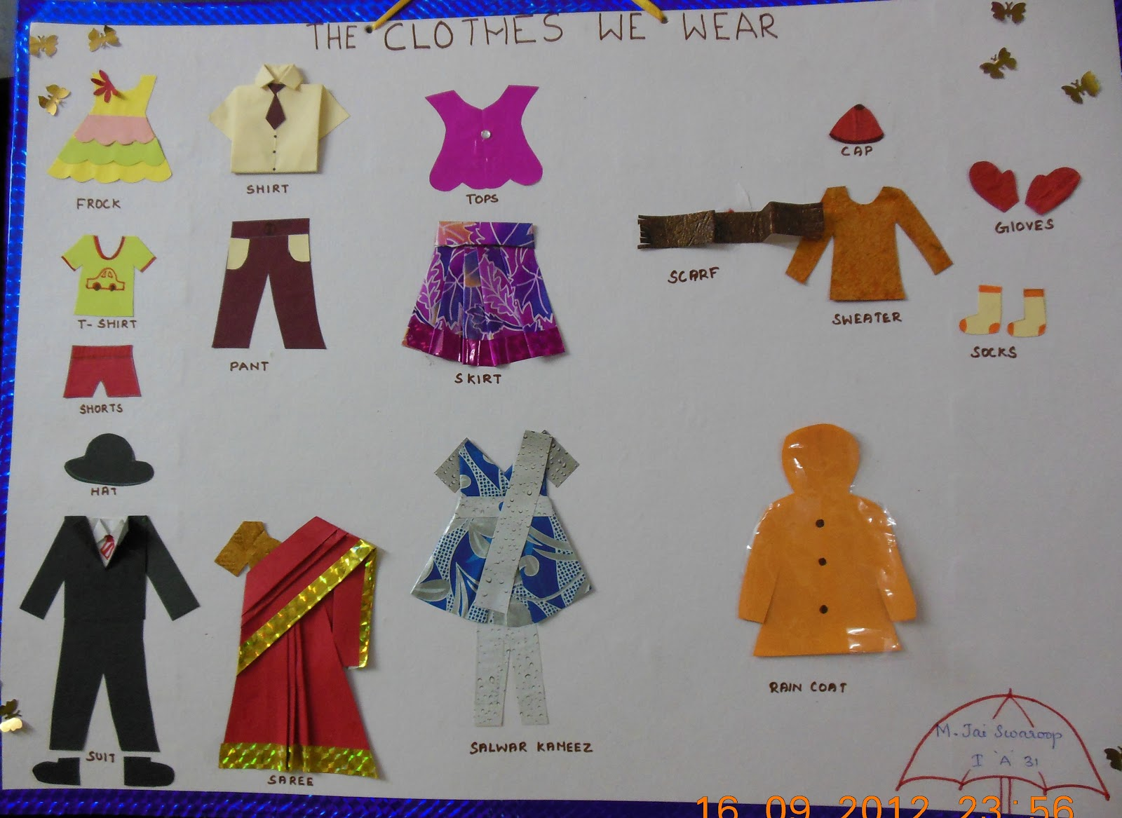 Funnyclasses Project Clothes And Seasons