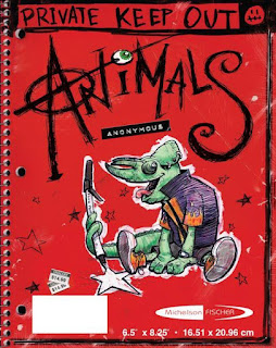 Animals Anonymous by Richard Michelson Book Cover