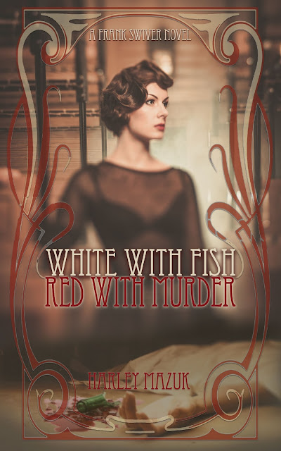 Cover Reveal - White with Fish, Red with Murder