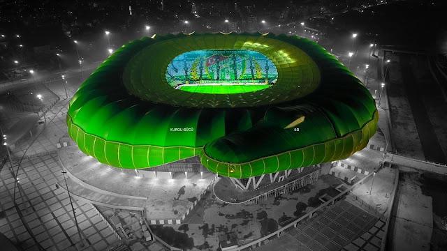Türkiye'nin En Büyük Futbol Stadyumu - Timsah Arena - Kurgu Gücü
