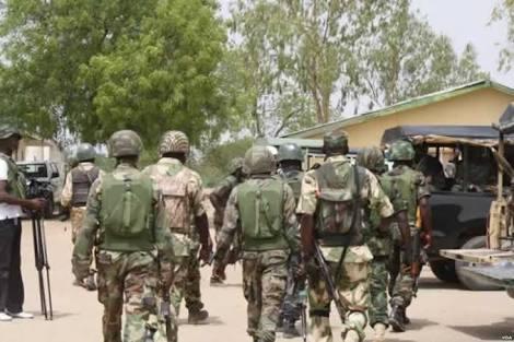 Nigerian Army Rescue 6-Year-Old Boy From Boko Haram