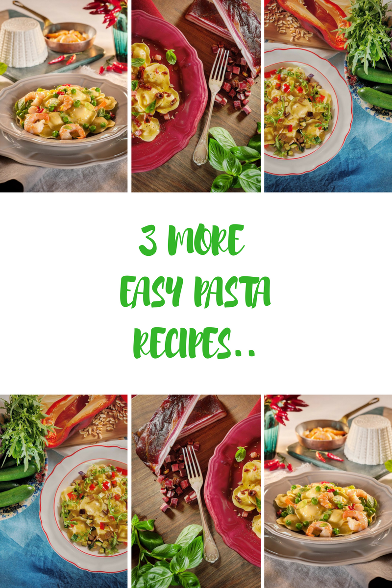 3 More Easy Pasta Recipes To Try Out For Dinner Tonight