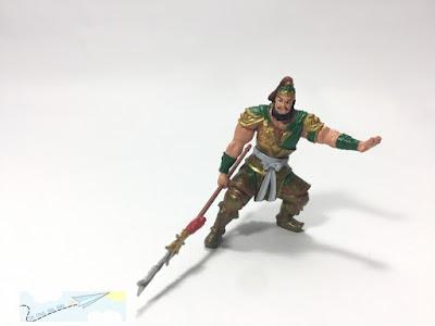 mô hình nhân vật Tam Quốc Chí trương phi