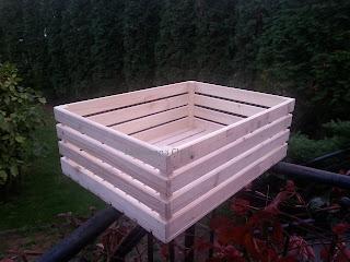 Skrzynka Drewniana 40 cm x 55 cm x 19 cm