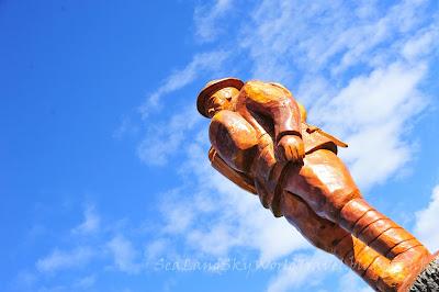tasmania Legerwood memorial carvings