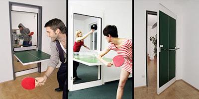 Ping Pong puerta