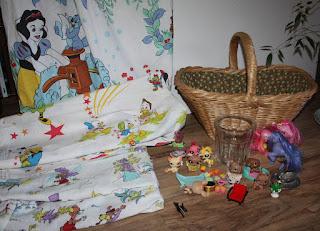Vintage Disney Bed Sheets
