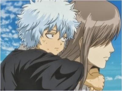 กินโทกิในวัยเด็กกับโยชิดะ โชโย