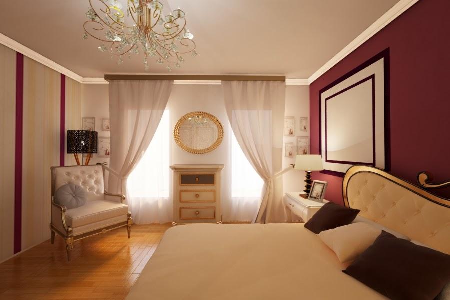 Arhitect interior Constanta - Design interior dormitor casa stil clasic Constanta