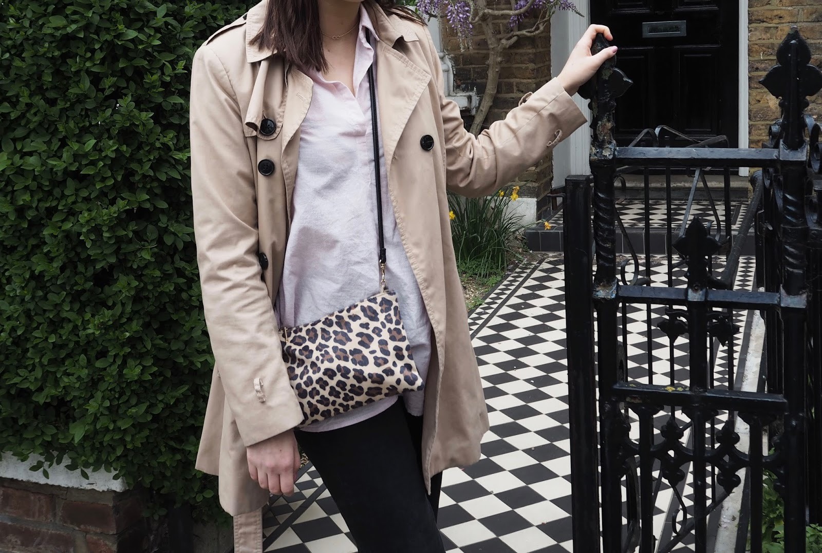 How To Style The Trench Coat With Jack Wills / Lauren Rose Style / Fashion Blogger London