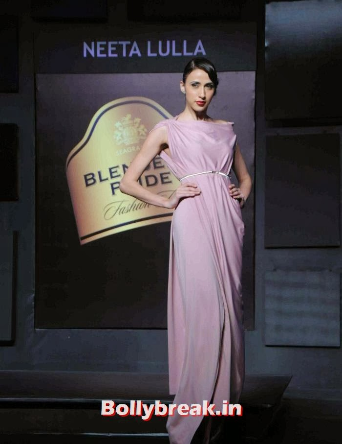 Alesia Raut, Tamanna, Kalki for Neeta Lulla at BPFT 2013