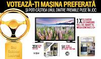 Castiga 1 televizor LED Smart Samsung + produse cosmetice