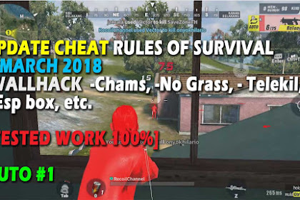 Cheat Rules of Survival Update 8 maret 2018 Leusin 3.0