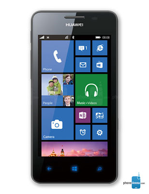 Huwai-Ascen-w2-with-8GB-On-Board-Storage-Windows-Phone-8-specifications