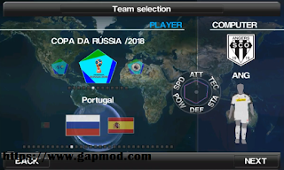 Download PES 2012 v9 Mod WORLD CUP 2018 RUSSIA Update Players & Kits
