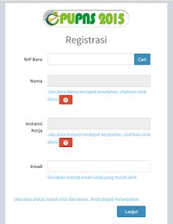 Tutorial Cara registrasi mendaftar PUPNS 2015