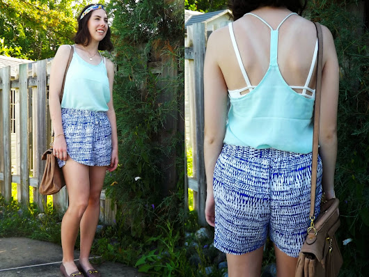My style : Summer casual and beachy outfit