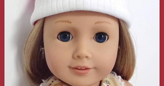 Dressing your doll for Christmas