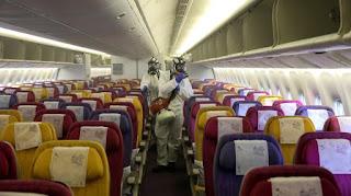Κοροναϊός: Απολυμαίνουν αεροσκάφος της Ryanair στη Θεσσαλονίκη