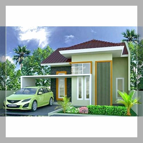 5 Variasi Teras Rumah Minimalis Type 36/60 - Desain Rumah 137