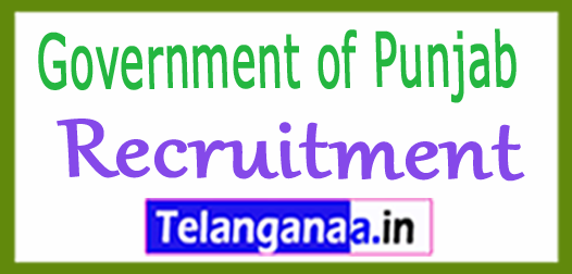 Government of Punjab Recruitment