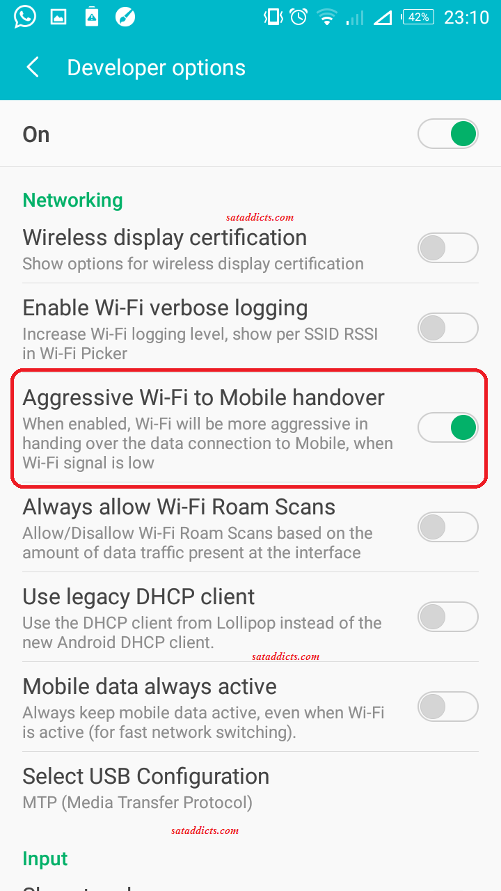 Android: 11 hidden features in the developer options. - Sat Addicts