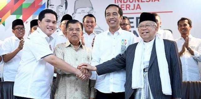 Erick Thohir Cuma Dijadikan Stuntman Cawapres Jokowi