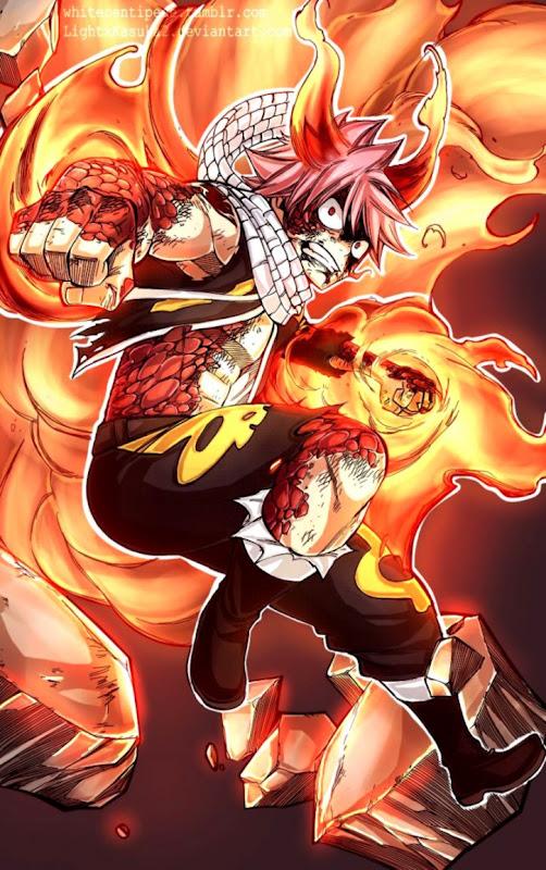 Natsu Dragneel Dragon Force | Safari Wallpapers