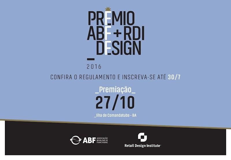Inscrições para o 6º Prêmio ABF+RDI Design são prorrogadas