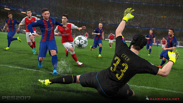 Pro Evolution Soccer (PES) 2017 Gameplay Screenshot 9
