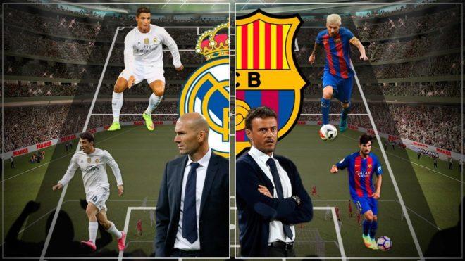Diferencias de Real Madrid y Barcelona