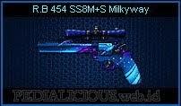 R.B454 SS8M+S Milkyway