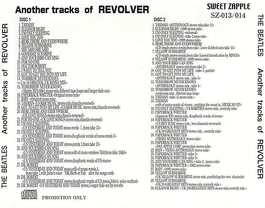 Revolver Outtakes