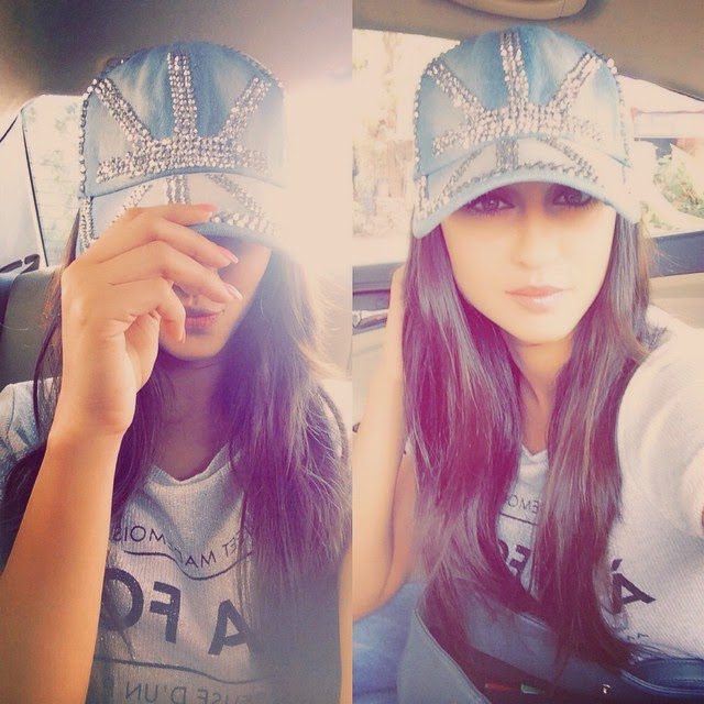if your happy and you know it click a pik !!! or two 😋 ! selfie , car fie , happy days , bling , insta love ,, Krystle D'souza Hot Seflie Images, Tv Actress Krystle Sexy Photo Gallery