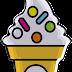 Abecedario en Conos de Helados. Ice Creams with Alphabet.