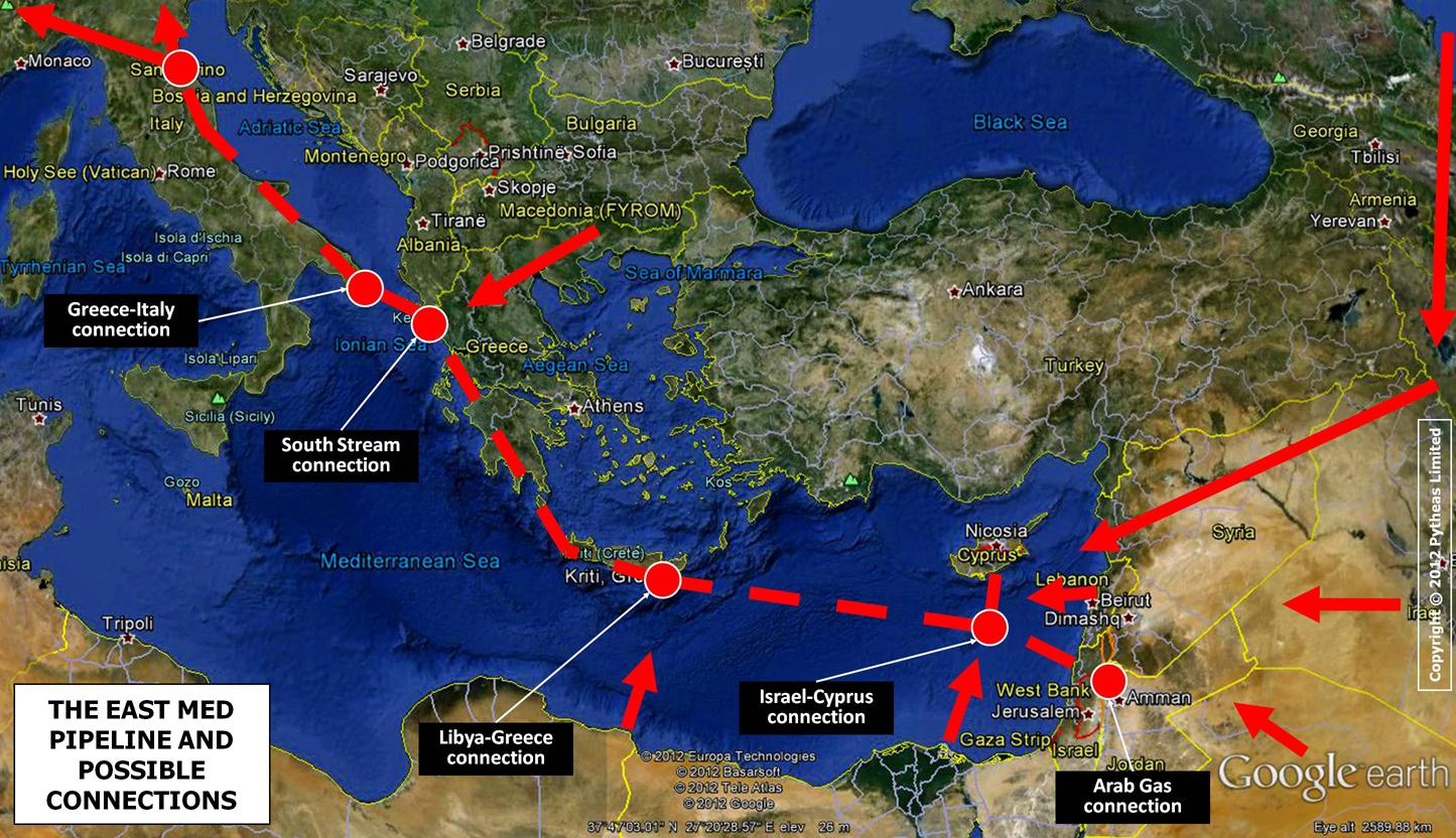 Ενεργειακά παιχνίδια: Αναβαθμίζεται η θέση της Ελλάδας