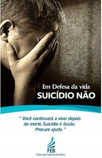 Palestra SUICÍDIO E OBSESSÃO