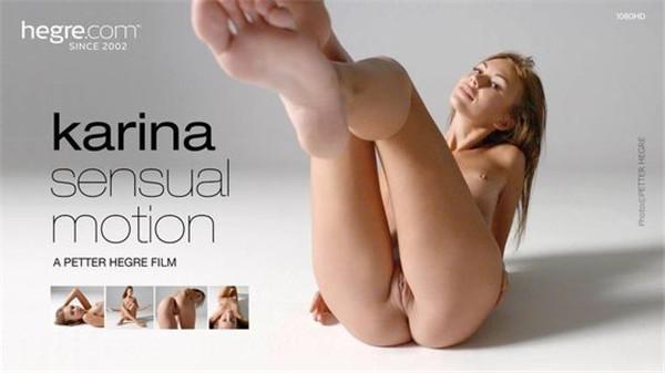 UNCENSORED HEGRE-ART 2016-10-04 Karina Sensual Motion, AV uncensored