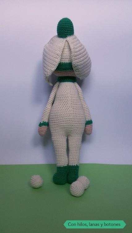 Con hilos, lanas y botones: snowdrop sia amigurumi