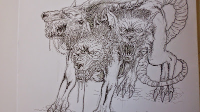 cerberus illustration