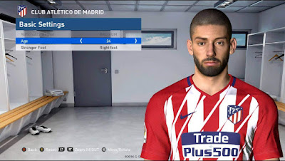 PES 2017 NEW CARRASCO FACE / HAIR 2018