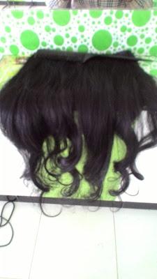 Rambut Sambungan Asli Manusia