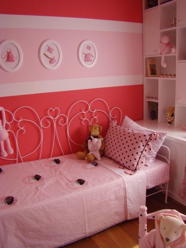 cuarto para niña rosa