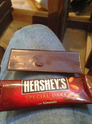 Imagen graciosa de un chocolate