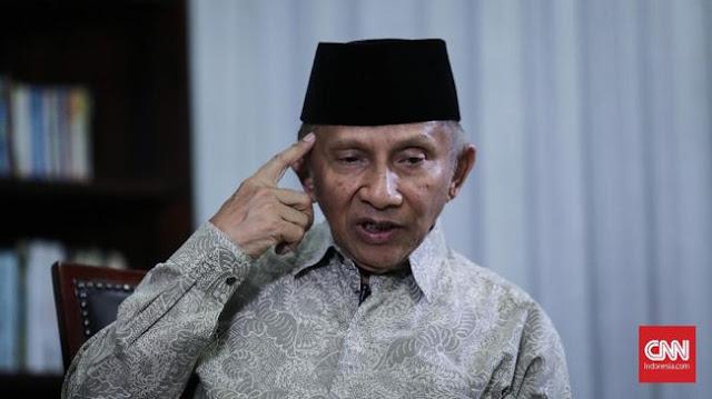 Amien Rais Andalkan Prabowo-Abdul Somad Tumbangkan Jokowi